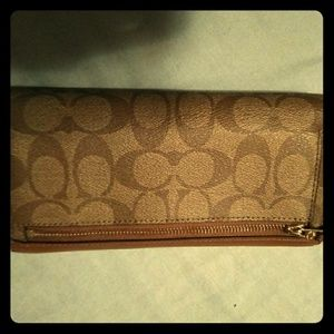 Coach Checkbook/Wallet